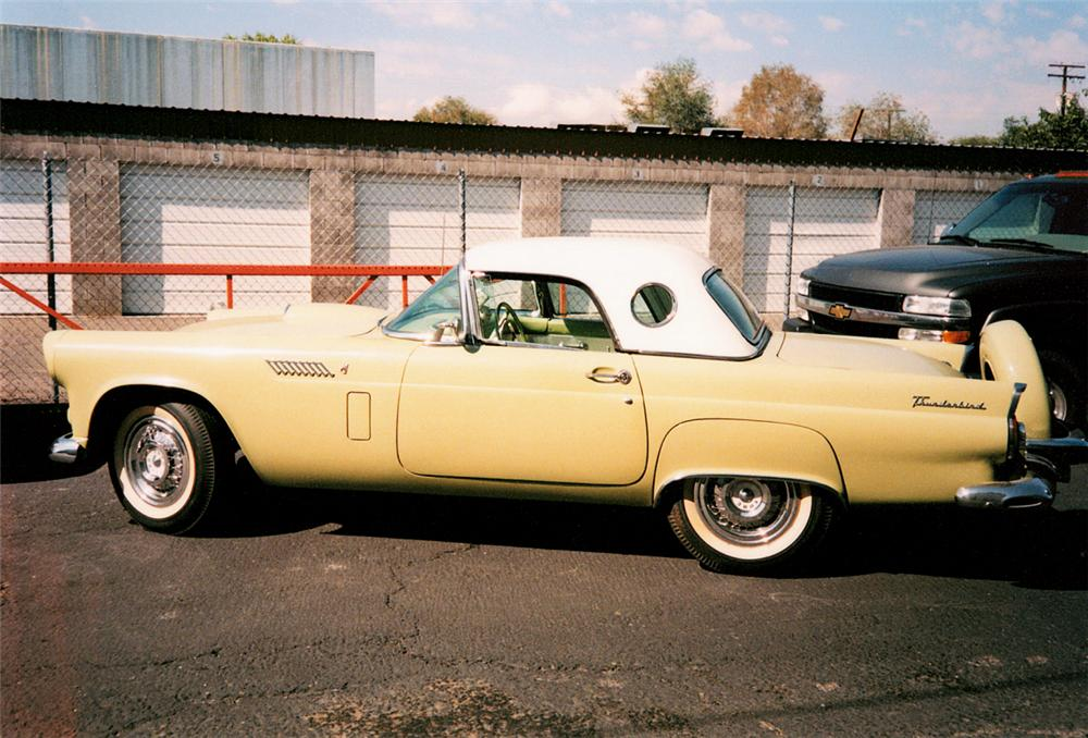 1956 FORD THUNDERBIRD CONVERTIBLE - Side Profile - 20072