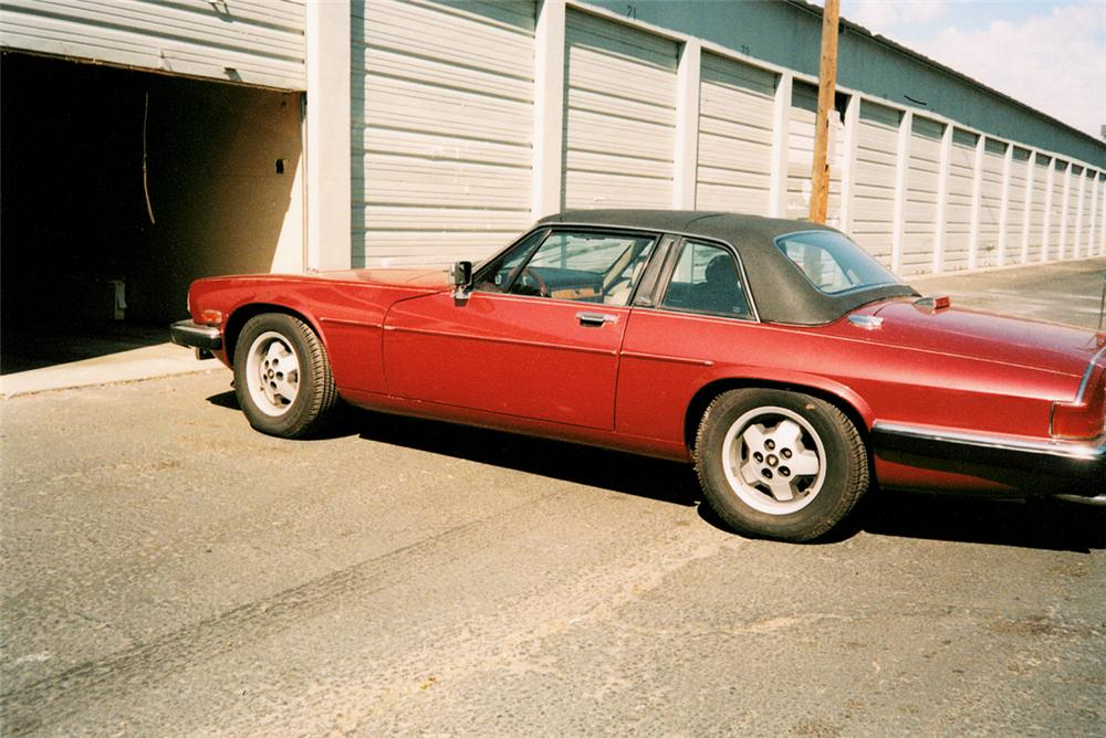 1988 JAGUAR XJSC CONVERTIBLE - Rear 3/4 - 20073