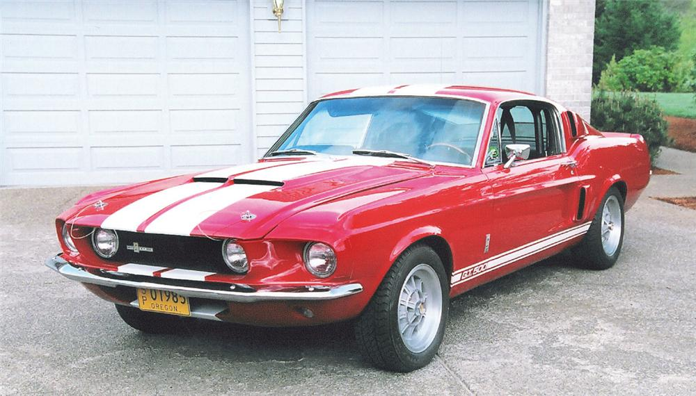 1967 SHELBY GT500 FASTBACK - Front 3/4 - 20081