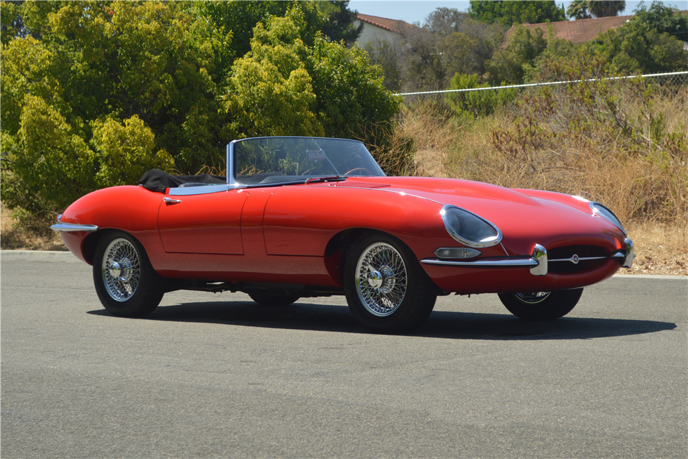 ... 1966 JAGUAR XKE SERIES I ROADSTER   Side Profile   200816 ...