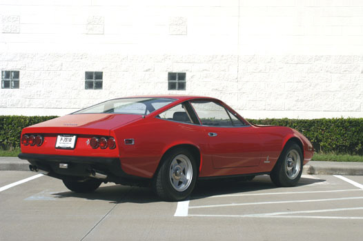 1972 FERRARI 365 GTC/4 UNKNOWN - Rear 3/4 - 20086