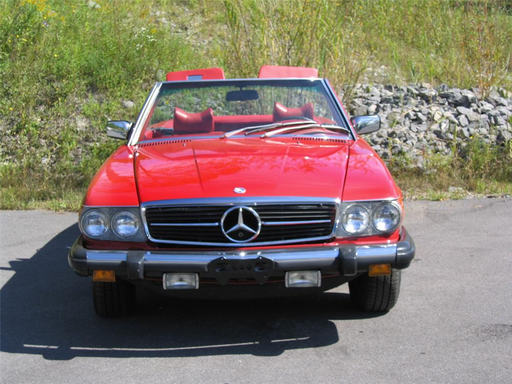 1978 MERCEDES-BENZ 450SL CONVERTIBLE - Side Profile - 20087