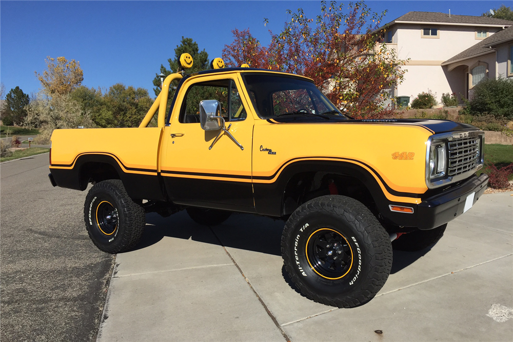1977 DODGE POWER WAGON 4X4 PICKUP - Front 3/4 - 200884