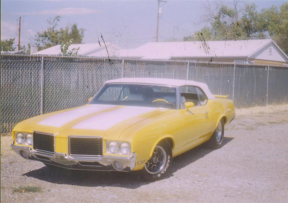1972 OLDSMOBILE CUTLASS CLONE CONVERTIBLE - Front 3/4 - 20090