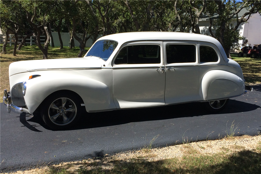 1941 lincoln custom 4 door sedan 200935 for 1941 chevy 4 door sedan