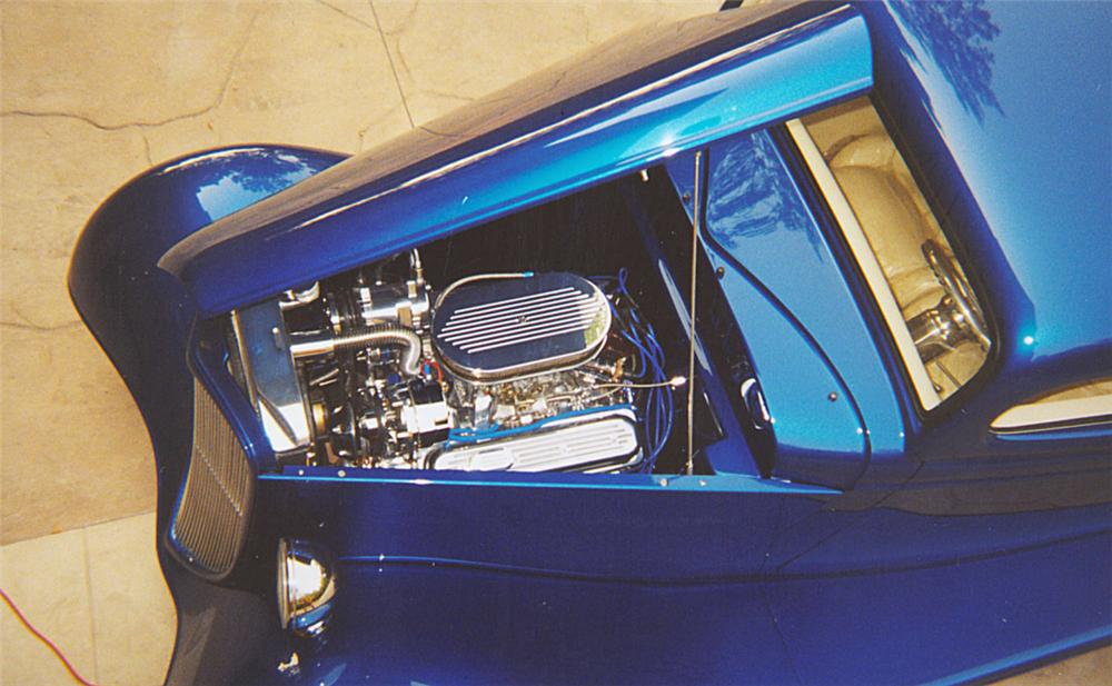1934 FORD 3 WINDOW CUSTOM COUPE - Engine - 20095