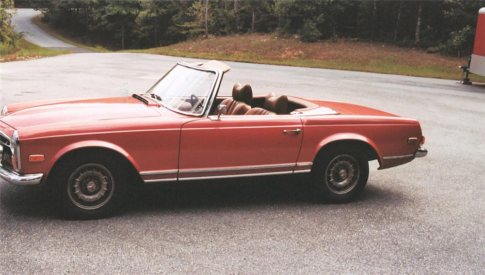 1969 MERCEDES-BENZ 280SL CONVERTIBLE - Engine - 20100