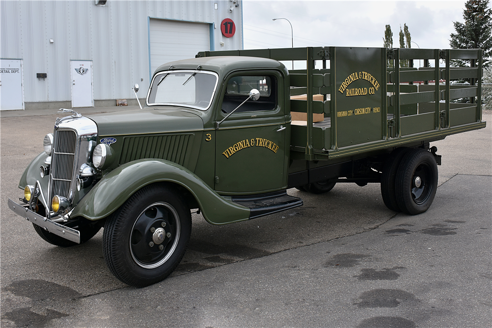 1936 FORD 1-1/2-TON STAKE BED TRUCK - 201006