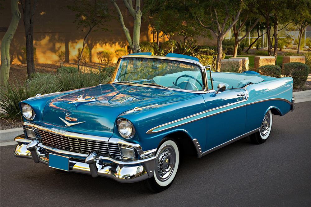 1956 chevrolet bel air convertible 201135. Black Bedroom Furniture Sets. Home Design Ideas