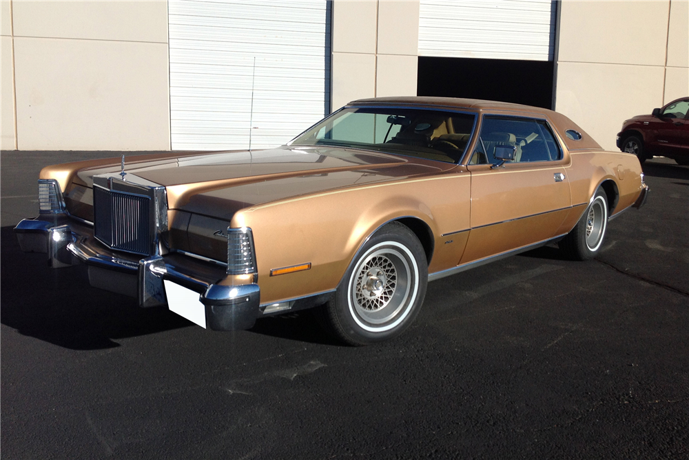 1975 LINCOLN CONTINENTAL MARK IV - Front 3/4 - 201233