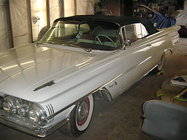 1959 OLDSMOBILE 88 CONVERTIBLE - Front 3/4 - 20124