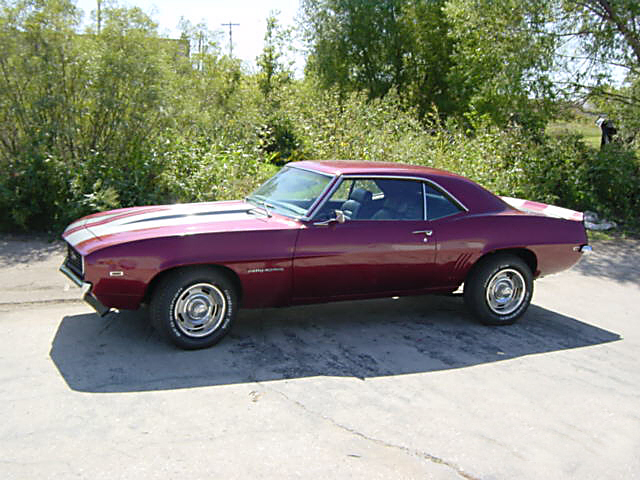 1969 CHEVROLET CAMARO RS COUPE - Front 3/4 - 20125
