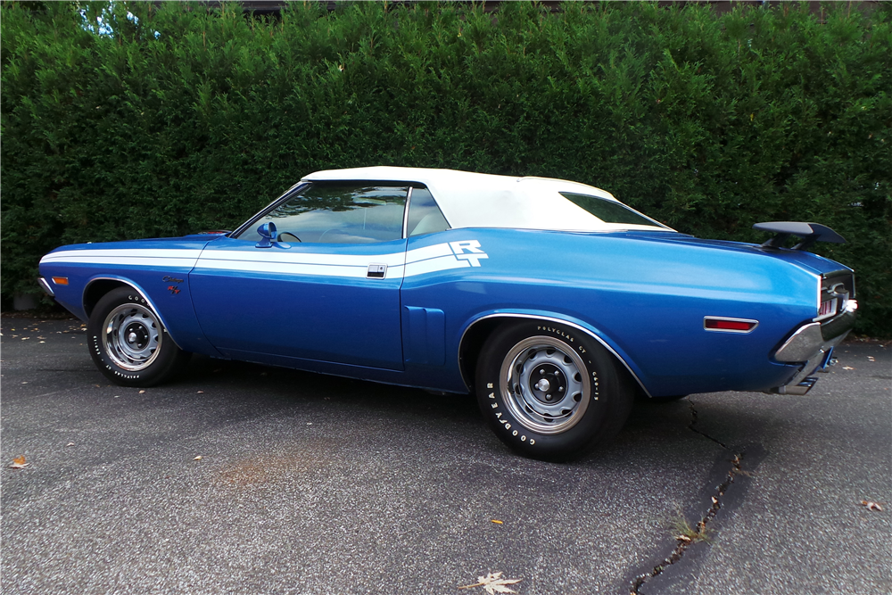 1971 dodge challenger r t convertible re creation 201261. Black Bedroom Furniture Sets. Home Design Ideas