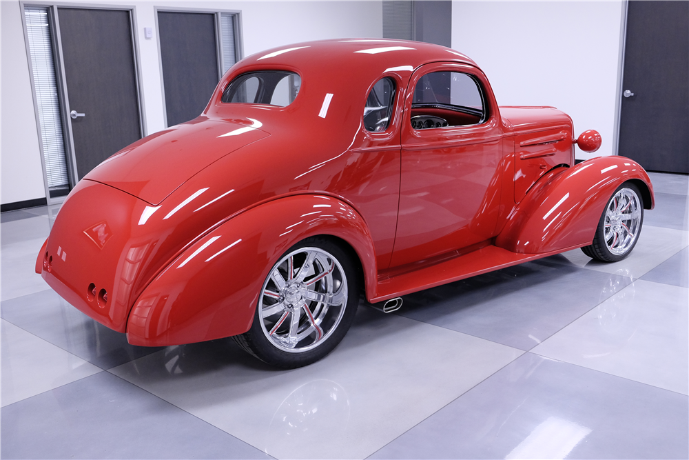 1936 chevrolet custom coupe 201275 for 1936 chevy 5 window coupe