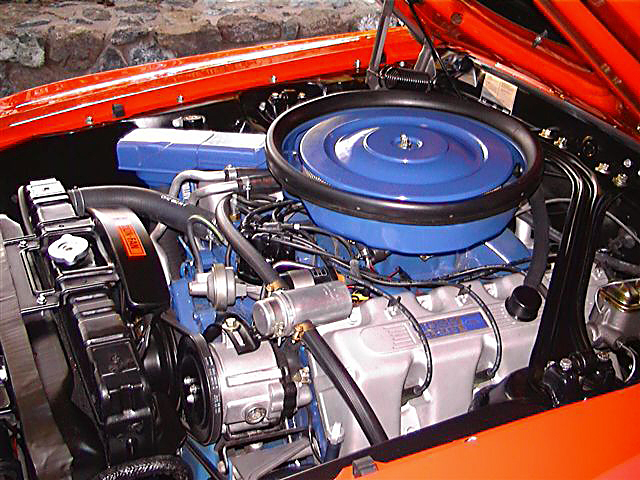 1970 FORD MUSTANG BOSS 429 FASTBACK - Engine - 20129