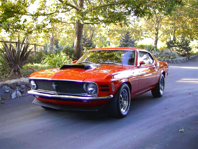 1970 FORD MUSTANG BOSS 429 FASTBACK - Front 3/4 - 20129