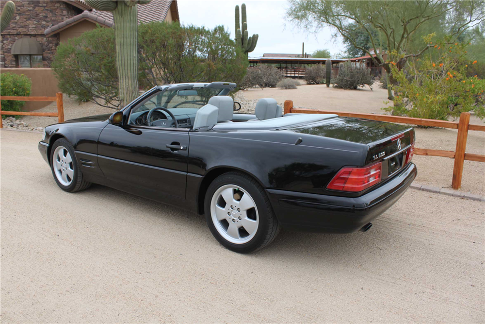 1999 mercedes benz sl500 convertible 201299 for Mercedes benz sl convertible