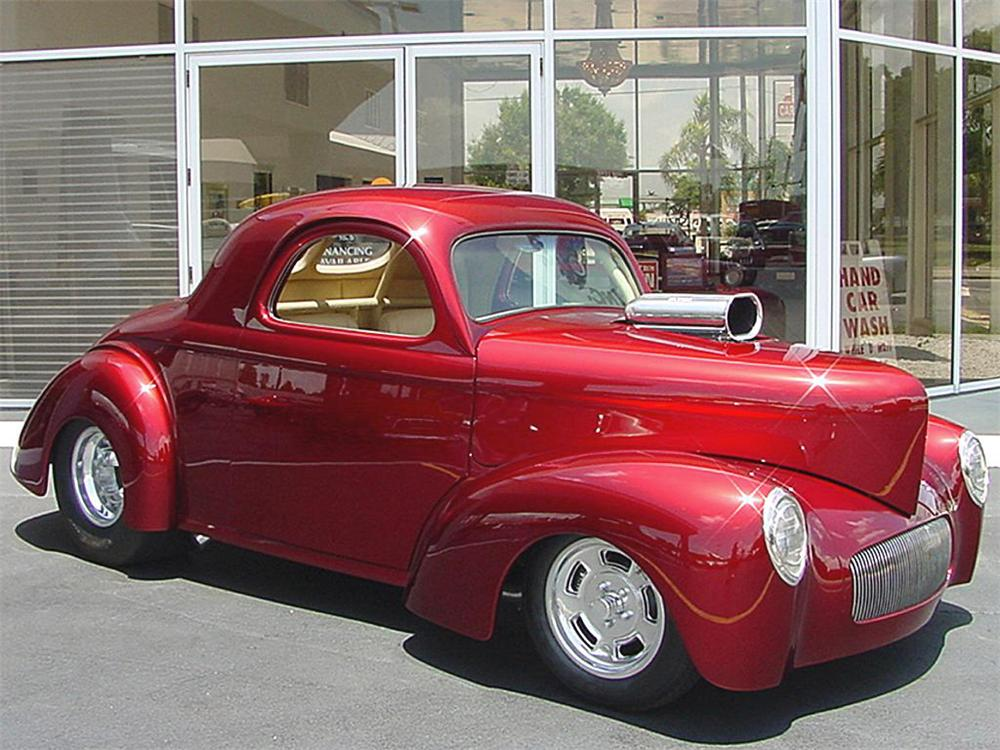 1941 WILLYS AMERICAR COUPE - Front 3/4 - 20130