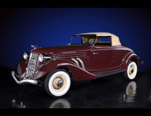 1936 AUBURN 852 SUPERCHARGED CONVERTIBLE -  - 20136