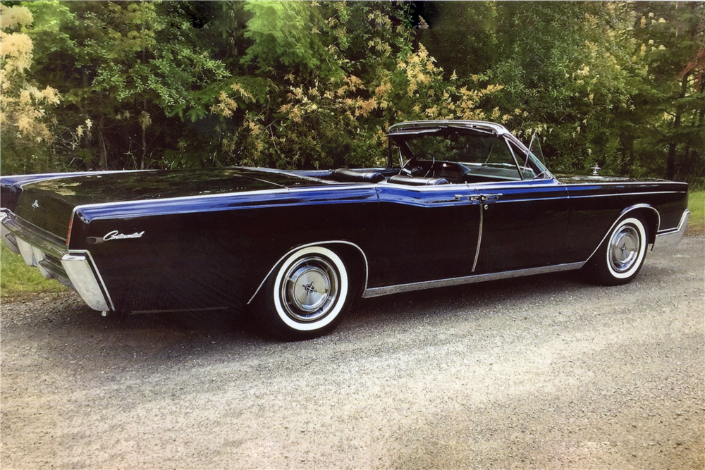 1967 LINCOLN CONTINENTAL CONVERTIBLE - 201417