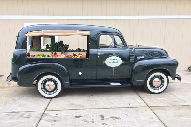 1948 CHEVROLET 3100 CANOPY EXPRESS - Side Profile - 201427 ... & 1948 CHEVROLET 3100 CANOPY EXPRESS - 201427