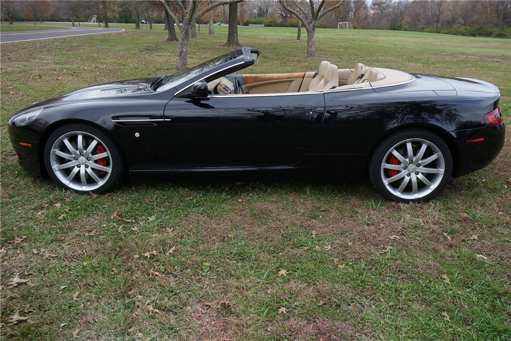 aston martin db9 convertible. 2005 aston martin db9 convertible side profile 201445 aston martin db9 convertible