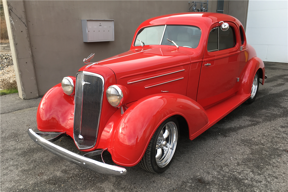 1935 chevrolet master deluxe custom coupe 201446 for 1935 chevy 5 window coupe