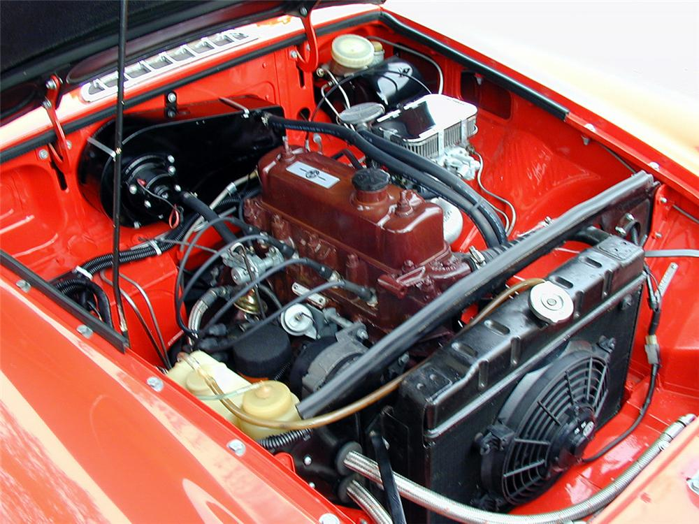 1968 MGB 2 DOOR - Engine - 20152