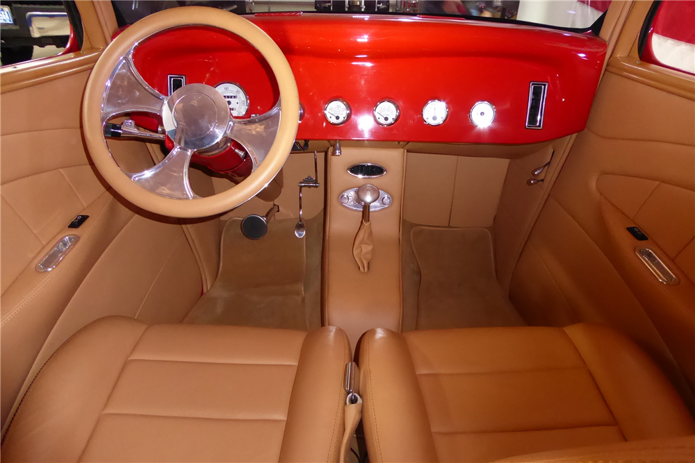 "1934 FORD CUSTOM SEDAN ""EDDIE VAN HALEN'S"" - Interior - 201524"