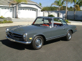 1968 MERCEDES-BENZ 250SL CONVERTIBLE -  - 20157