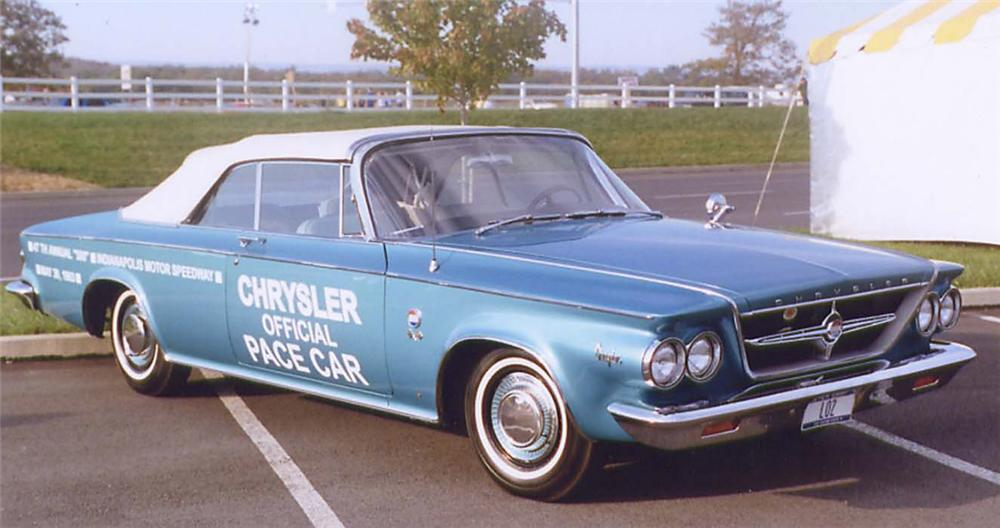 1963 CHRYSLER PACE SETTER CONVERTIBLE - Front 3/4 - 20159