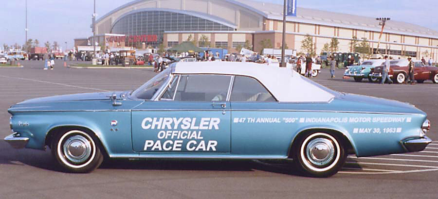 1963 CHRYSLER PACE SETTER CONVERTIBLE - Side Profile - 20159