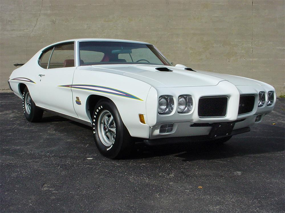1970 PONTIAC GTO JUDGE 2 DOOR HARDTOP - Front 3/4 - 20162