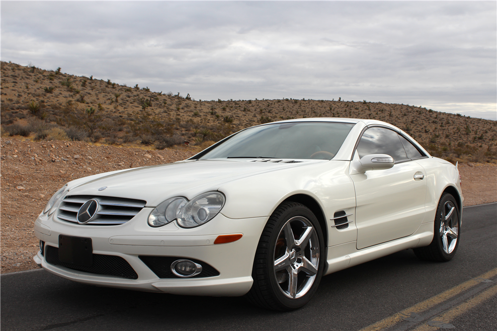 2007 mercedes benz sl550 convertible 201659 for Mercedes benz sl550