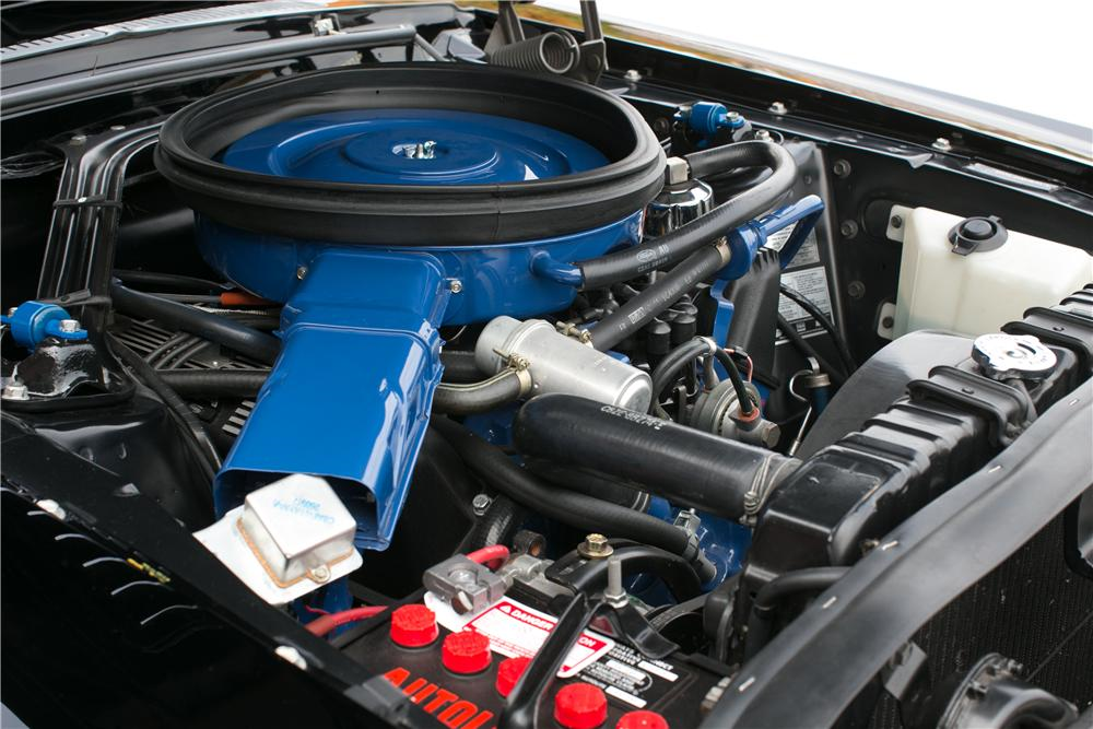 1968 SHELBY GT500 KR CONVERTIBLE - Engine - 201709