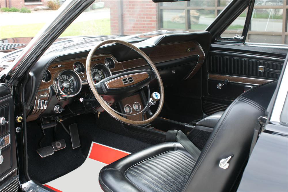 1968 SHELBY GT500 KR CONVERTIBLE - Interior - 201709