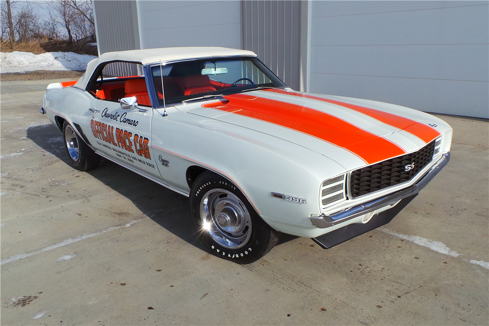 Camaro Convertible Pace Car For Sale