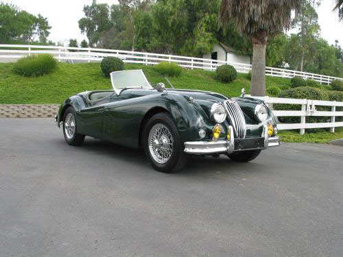 1957 JAGUAR XK 140 MC ROADSTER - Front 3/4 - 20180