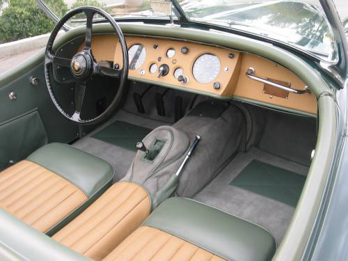1957 JAGUAR XK 140 MC ROADSTER - Interior - 20180