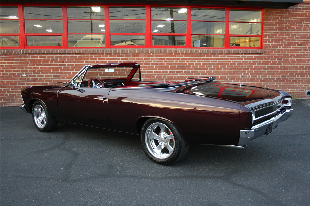 1966 chevelle convertible malibu custom chevrolet cars