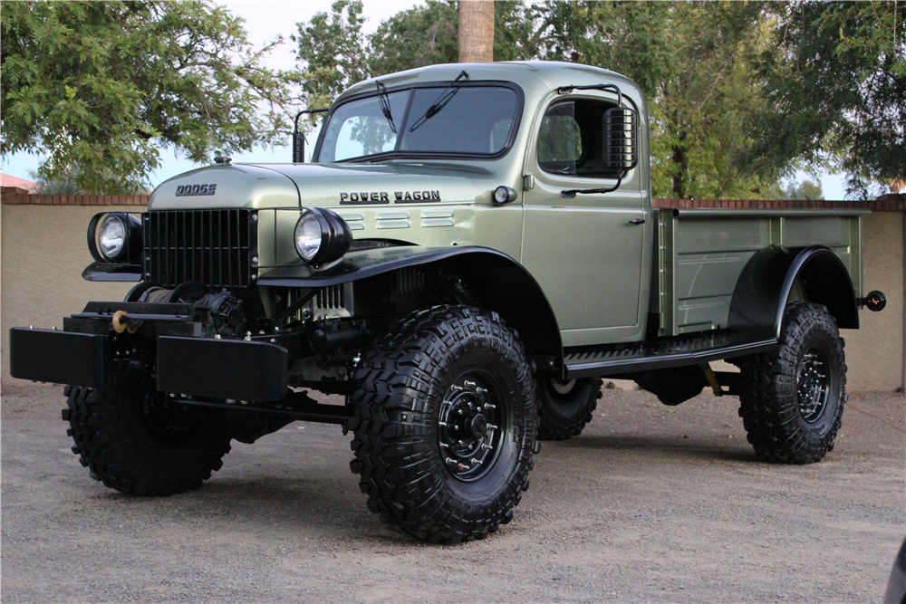 1958 DODGE POWER WAGON CUSTOM 4X4 201909 on 1956 dodge power wagon 4x4