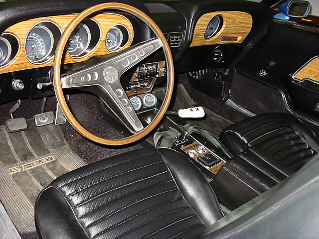 1969 SHELBY GT500 FASTBACK - Interior - 20193