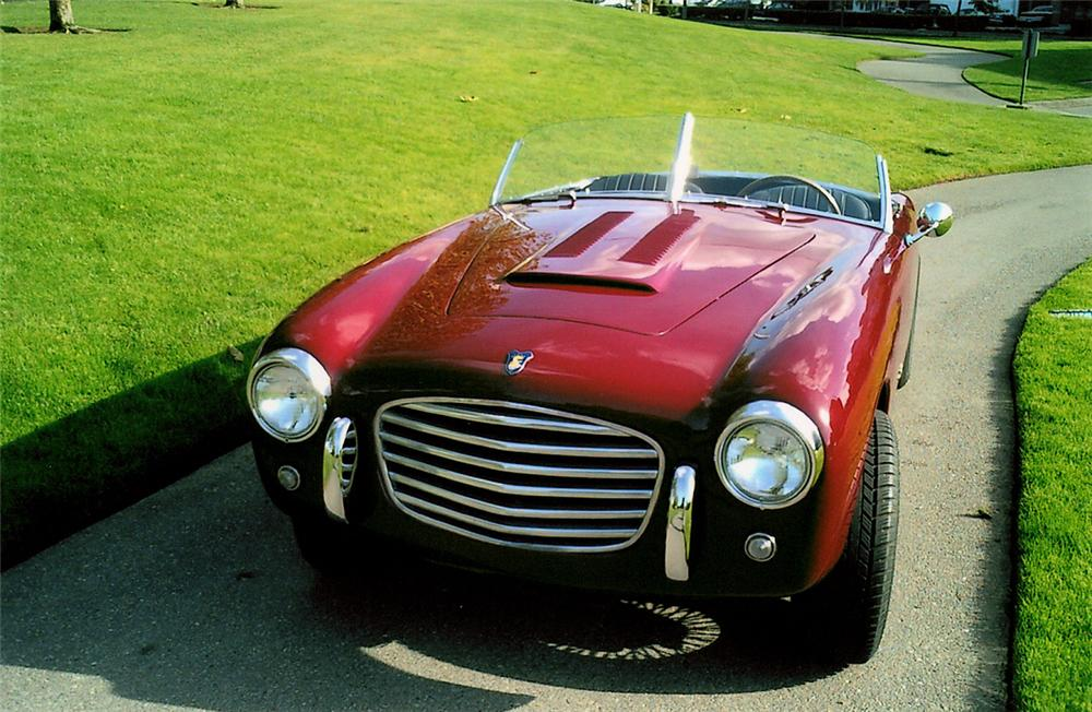 1952 SIATA DAINA GRAN SPORT ROADSTER - Side Profile - 20204