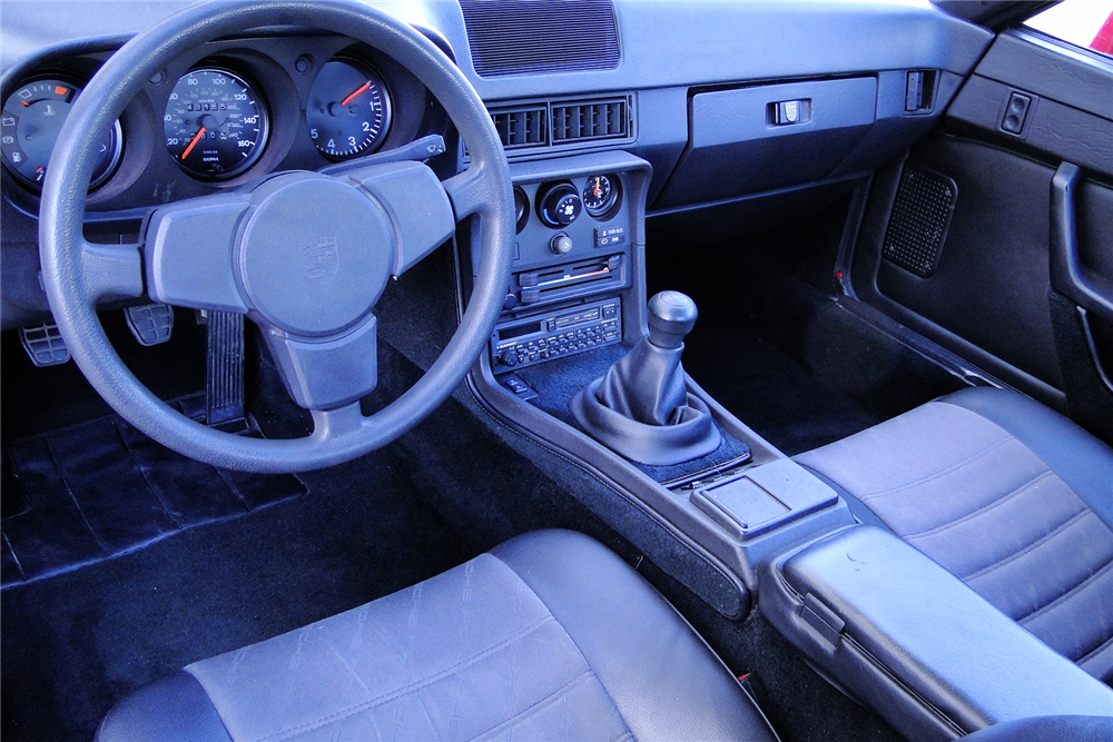 1987 porsche 924 202067 for Porsche 924 interieur