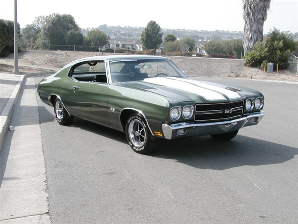 1970 CHEVROLET CHEVELLE COUPE - Front 3/4 - 20208