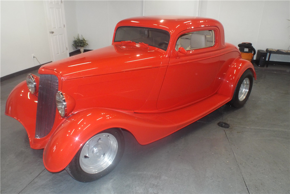 1934 ford 3 window custom coupe 202102