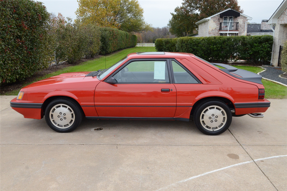 1985 Ford Mustang Svo 202158