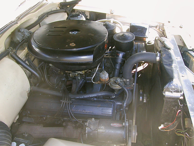 1956 CADILLAC DE VILLE COUPE - Engine - 20218