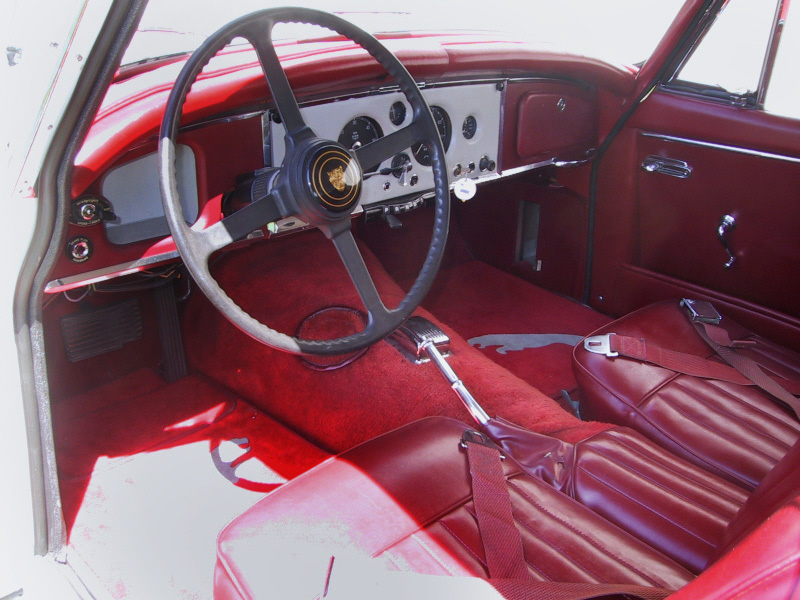 1961 JAGUAR XK 150 SE 3.8 COUPE - Interior - 20220