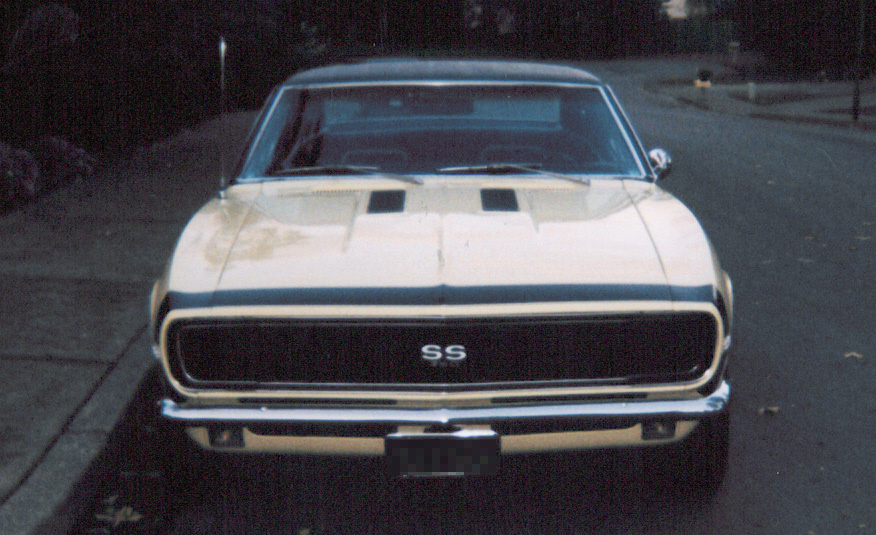 1967 CHEVROLET CAMARO RS/SS COUPE - Side Profile - 20223